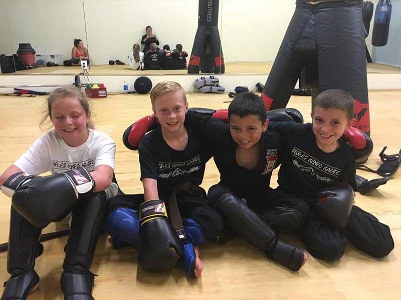kids martial arts training in littleton